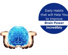 Habits that will Help You to Improve Brain Power
