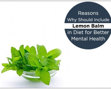 Reasons Why Should Include Lemon Balm in Diet for Better Mental Health