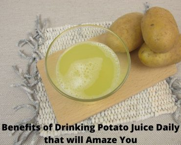 Benefits of Drinking Potato Juice Daily that will Amaze You
