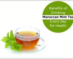 Benefits of Drinking Moroccan Mint Tea