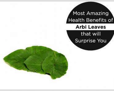 Most Amazing Health Benefits of Arbi Leaves