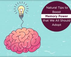 Natural Tips to Boost Memory Power