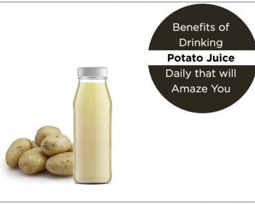 Benefits of Drinking Potato Juice